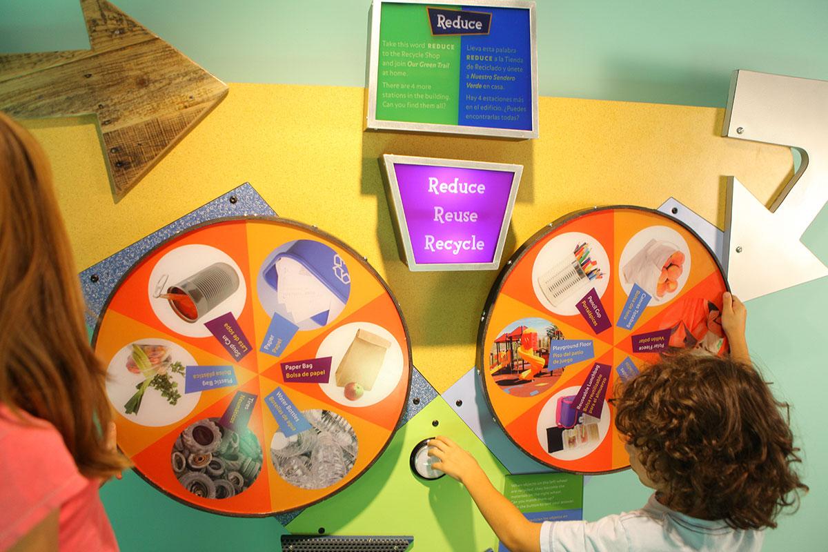 Boston Childrens Museum Green Trail Exhibit